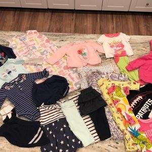 22 pc Baby girl bundle